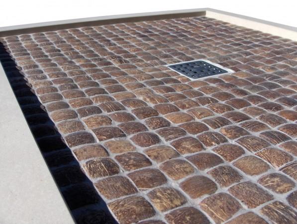 Doccia mosaico foto foto di bagni a mosaico tempo libero - Piatto doccia mosaico ...